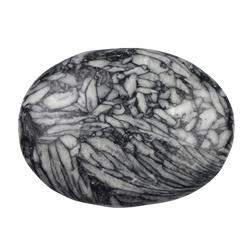 Pinoliet / IJsbloem Magnesiet,  5x7 cm  massagesteen