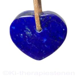 Lapis Lazuli, A kwaliteit,  Hart frontgeboord 1x uniek ex.