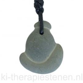Calciet, Fairy Stone  hanger geboord per st.