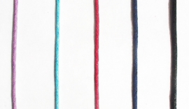 Calciet, blauw,  edelsteen hanger