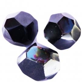 Granaat trommelsteen gefacetteerde (L) per st.