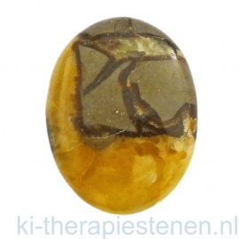 Septarie (Madagaskar), massagesteen 3,5x5 cm
