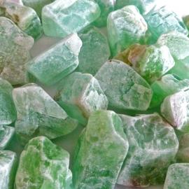 Calciet Groen Waterstenen 100/200 gram voor watervitalisatie