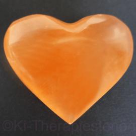 Seleniet Oranje Hart ca 6-7 cm *
