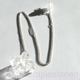 Merkaba, Bergkristal pendel incl. opbergzakje (katoenen)