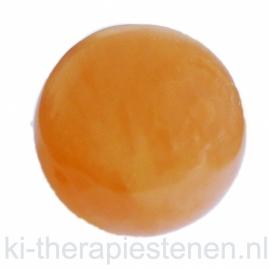 Seleniet Oranje Bol ca 6,2 cm 1x uniek ex.