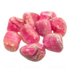 Rhodochrosiet, A-kwaliteit trommelsteen (L) p.st.*