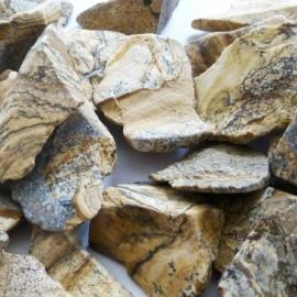 Jaspis Landschap, Waterstenen 100/200 gram voor watervitalisatie