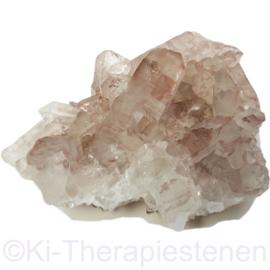 Lithium kwarts cluster A kwaliteit 1x uniek ex.