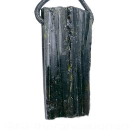 Epidoot kristalpunt geboord    1x UNIEK
