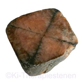 Kruissteen, Chiastoliet zuiltje, Extra kwaliteit