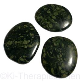 Kabamba Rhyoliet (Eldariet), platte edelsteen  p. st.*