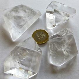 Chakrasteen Bergkristal p.st.