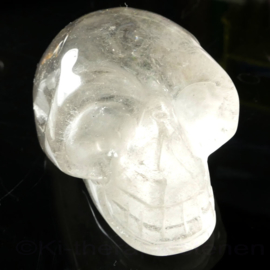 Schedel Bergkristal 5 cm 1x uniek ex.