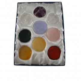 001 Chakrastenen uitgebreide set (9x st.) Lapis Vitalis