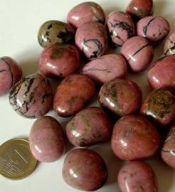 Rhodoniet trommelsteen (L) per st.*