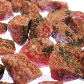 Rhodoniet Waterstenen Extra kwaliteit 100/200 gram