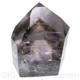 Fantoom - kristal Rookkwarts-Amethist  AA-kwaliteit 1x uniek ex.