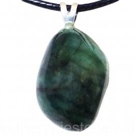 Smaragd, A-kwaliteit edelsteen hanger