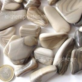 Vuursteen - Flint  (XL) trommelsteen  p.st*