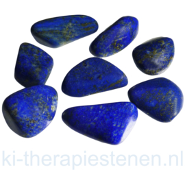 Lapis Lazuli, TS (handgepolijste) (XL) p st ca. 18 gr.