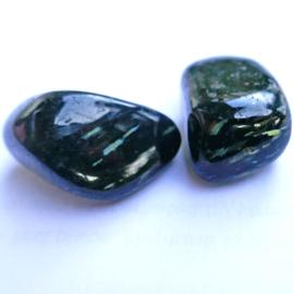 Nuumiet trommelsteen (M) A. kwaliteit per st. (ca 12 gram)