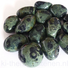 Kabamba Rhyoliet (Eldariet) trommelsteen (XL-XXL) per st.