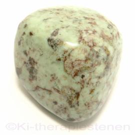 Chrysopaal - Opaliet trommelsteen (XL) 1x UNIEK