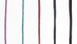 Toermalijn, rood, Rubelliet edelsteen hanger 1x uniek ex.