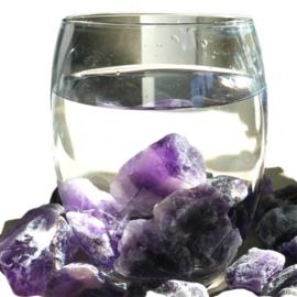 Amethist (A-kwaliteit) Waterstenen 100/200 gram voor watervitalisatie