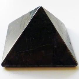 Shungiet, piramide ca 5 cm, in Luxe geschenkverpakking