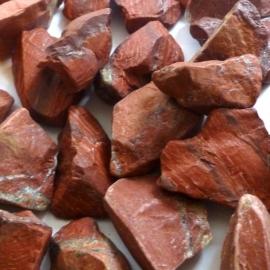 Jaspis, rode  Waterstenen 50/100/200 gram voor watervitalisatie