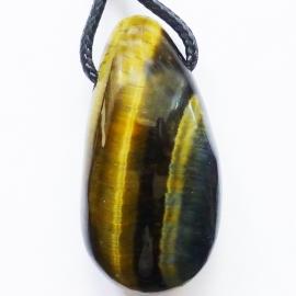 Valkenoog hanger (drop-shaped) geboord