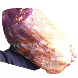Amethist  kristalpunt (Kathedraal) A - Q. Brazilië, H.  33  cm, 8,4 kilo