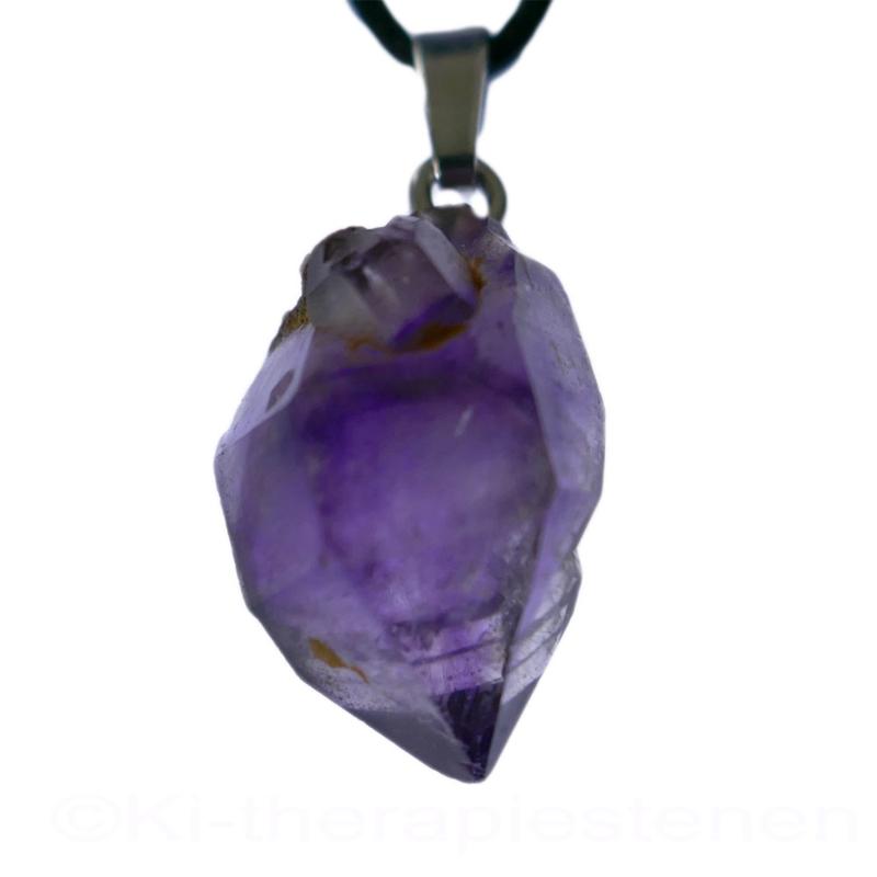Amethist, Amethist Brandberg kristal  hanger per st.