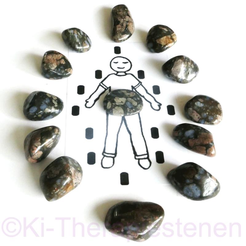 Que Sera Stone of Vulkaniet  Steenkring 1x Unieke set Set 0,5 kilo.  ♦♦♦