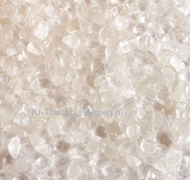 Bergkristal Oplaad trommelst. Mini  0,5 kg / 1  / 3 kg