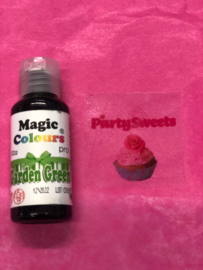 GARDEN GREEN Magic color Pro Gel met hoog pigment gehalte