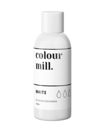 100 ml WHITE Colour Mill oil based food colouring  9maart verwacht