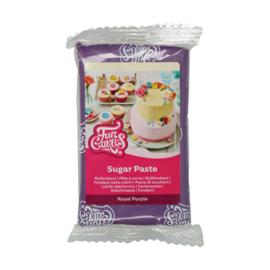 Paars / Royal purple Funcakes Rolfondant