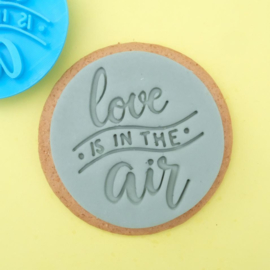 Love is in the air  Cookie/ Cupcake embosser