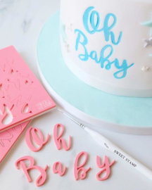 Sweet Stamp STYLISH full set Upper & Lowercase