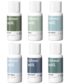 Coastal Range 6-Pack - Colour Mill - oil based coloring