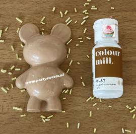 20 ml CLAY Desert RangeColour Mill oil based Food coloring