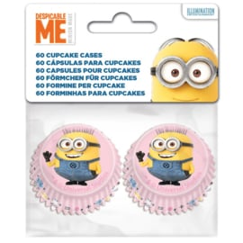 79435 MINI   Minion Cupcake baking cups 60/pk