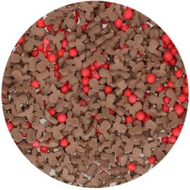 424489 Funcakes Reindeer Sprinkel mix
