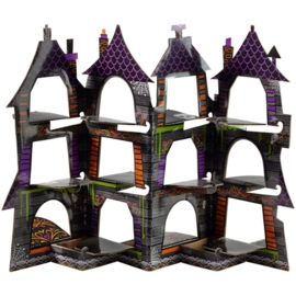 02306 Haunted house cupcake display / standaard