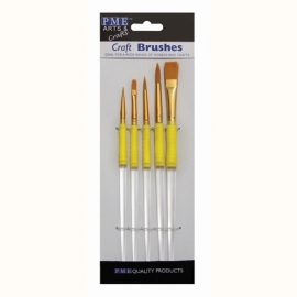 004010 PME Craft Brush set