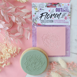 Pretty Peony-Floral collection- Outboss- Sweetstamp