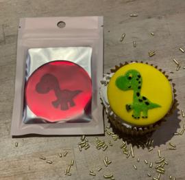 Dinosaurus - fondant stempel - PartyStamp - Outbosser